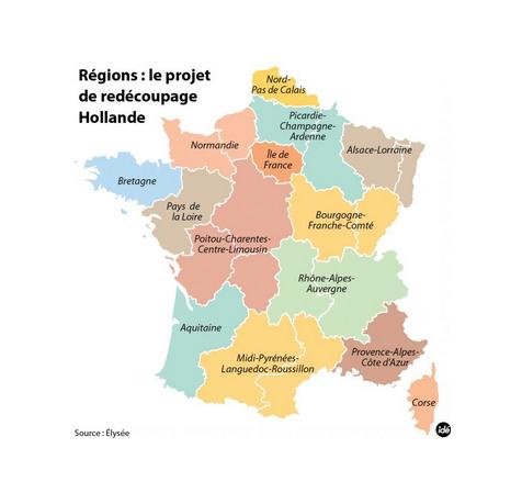 Nouvelles carte des régions, disparition à moyen terme des conseils départementaux, nouvelle augmentation de la taille de communautés de communes... Découvrez le projet de loi portant réforme de l'organisation territoriale de la République.