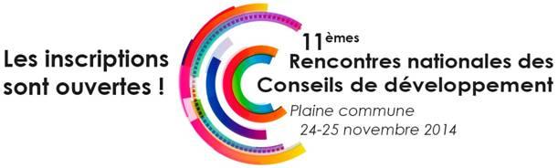 11e rencontres nationales des Conseils de développement